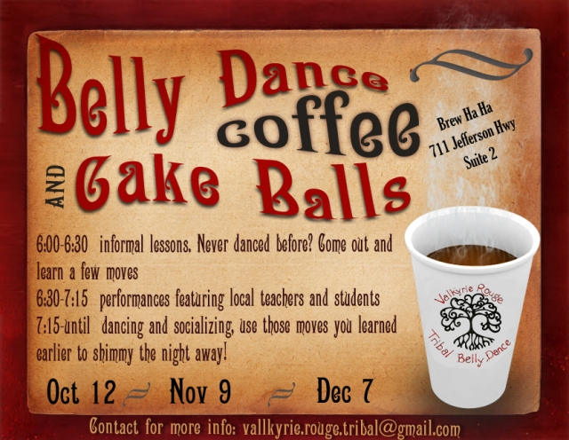Belly Dance and Cake Balls